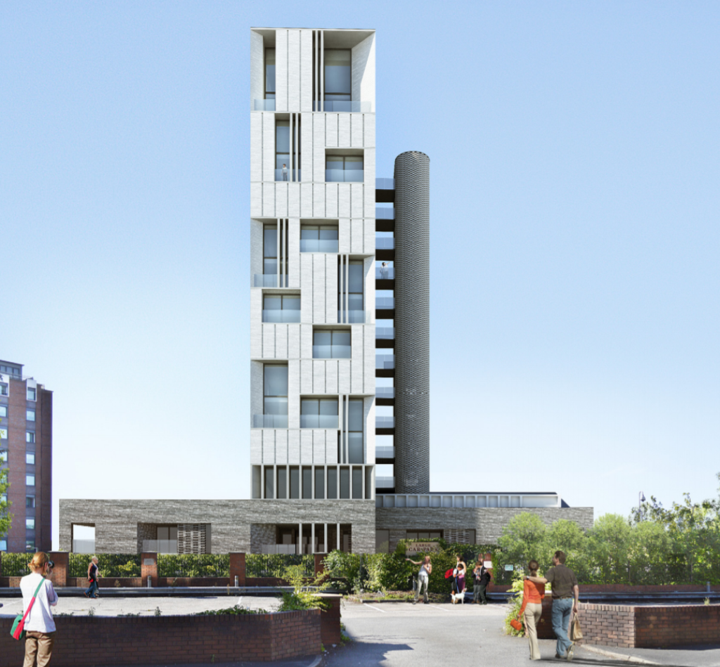 Eamar Stockport 2 - NEW RESIDENTIAL TOWER IN STOCKPORT TOWN CENTRE IS TIPPED TO HAVE PLANNING CONSENT GIVEN SOON