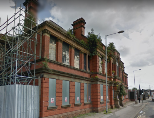 PLANS SUBMITTED TO CONVERT ST THOMAS'S HOSPITAL IN STOCKPORT TOWN CENTRE INTO A 70-BED CARE FACILITY AND 68 AFFORDABLE HOMES