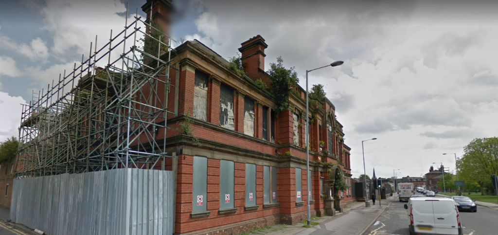 St Thomass Stockport - PLANS SUBMITTED TO CONVERT ST THOMAS'S HOSPITAL IN STOCKPORT TOWN CENTRE INTO A 70-BED CARE FACILITY AND 68 AFFORDABLE HOMES