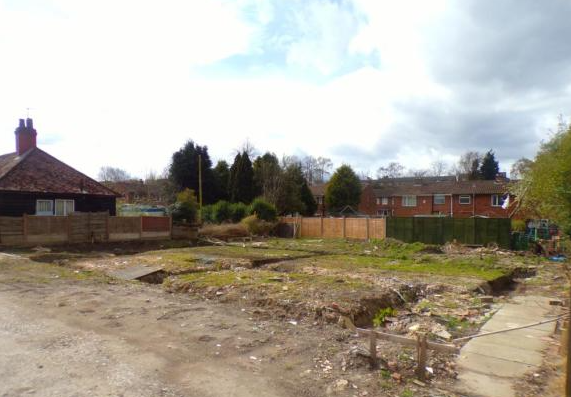 Plot of land for sale - land for sale with planning permission