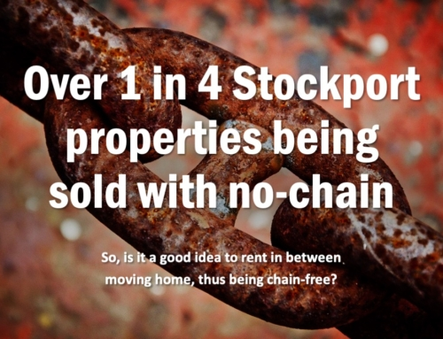 OVER 1 IN 4 STOCKPORT PROPERTIES BEING SOLD WITH NO CHAIN