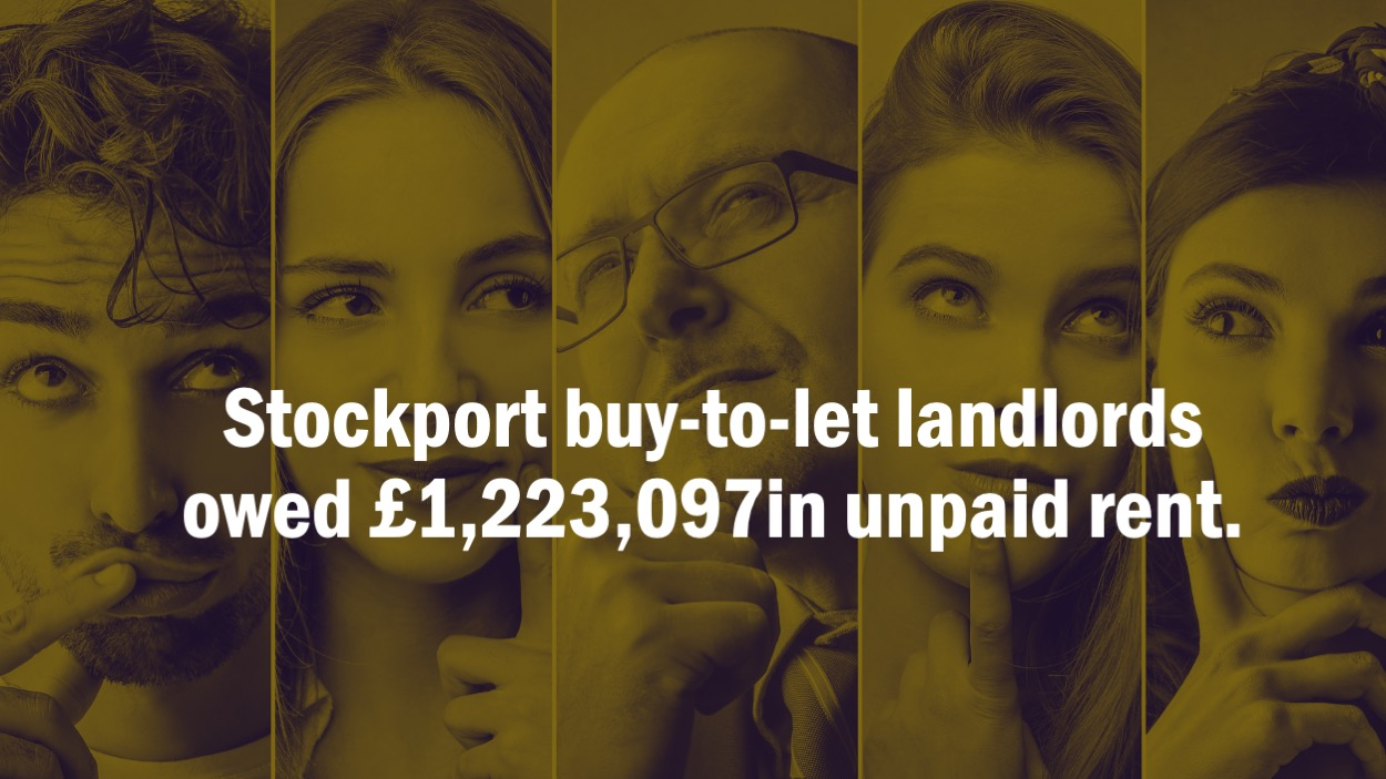 Slide2 - STOCKPORT BUY-TO-LET LANDLORDS OWED £1,223,097 IN UNPAID RENT.  BUSINESS PEOPLE OR SAVIOURS?